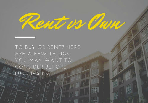 Renting Versus Buying a Home in Vaughan, Ontario